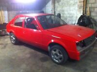 Vauxhall Astra MK1 1300s 2.0 16v unfinished project GTE replica