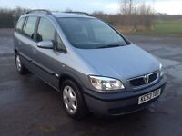 Vauxhall zafira 2.0 DTI diesel 7 seater MPV very clean