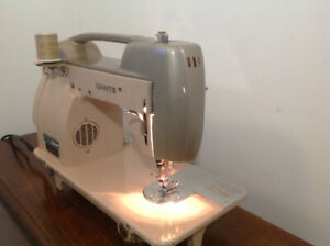 "Retro ""White"" sewing machine"
