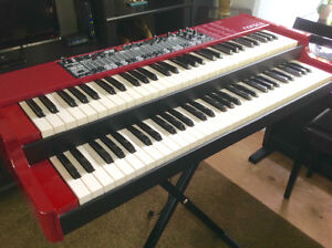 Nord C2 Combo Organ/Keyboard & Softcase, Mint Condition