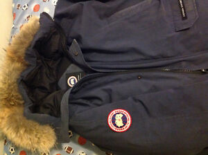 Canada goose men's xl blue chilliwack bomber