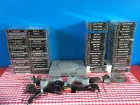 Huge Playstation 1 PS1 Bundle With 82 Games