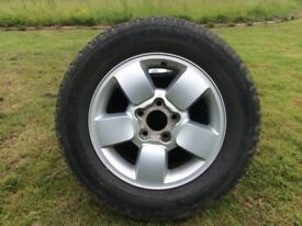 Jeep Grand Cherokee wheel with tyre 235/65/17