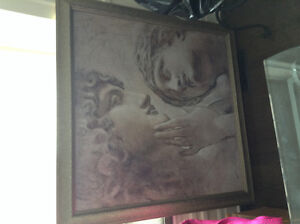 Beautiful mint condition professionally framed print $125
