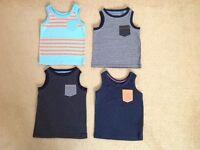 Next boys vest tops