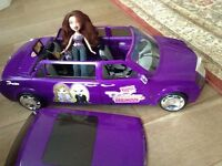 Bratz party limo and doll set
