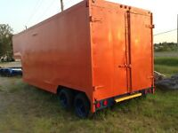 5 ton capacity storage trailer