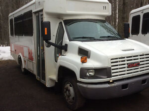Chevrolet 4500 Bus with Wheelchair Lift.