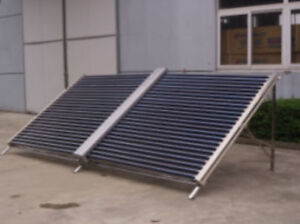 Solar Heat Pipe Collector System