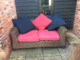 Two Outdoor Sofas