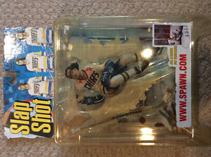 Slapshot Hanson Brothers McFarlane Set (in packages) Strathcona County Edmonton Area image 3