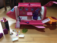 Barbie Airplane and Accessories