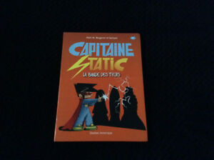 Livre Capitaine Static