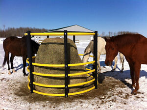 Horse-safe Bale Feeders
