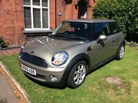 Mini Cooper 1.6 High spec, leather int, NEW SHAPE, low mileage