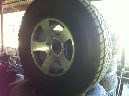 Hilux Csa wheels & tyres set suit Hilux 4x4 97 on -reduced Dural Hornsby Area Preview