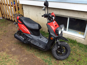 Scooter Yamaha BWS 2013 Rouge à vendre !