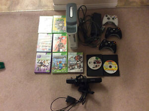 Xbox 360 60GB with games