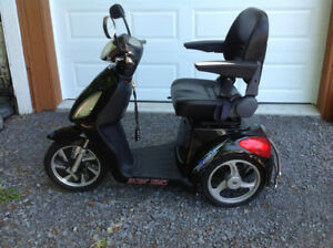 Premium battery scooter.