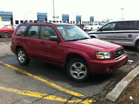 2003 Subaru Forester XS - SUNROOF - LEATHER - MAGS