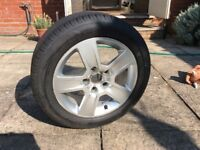 Audi a4 wheel and tyre