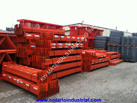 REDI-RACK PALLET RACKING IN STOCK. LOW PRICING. FAST DELIVERY