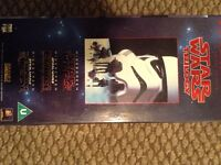 Star Wars box set vhs video
