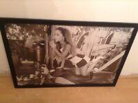 Ariana Grade Framed poster