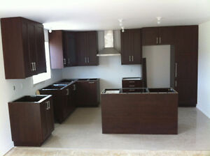 IKEA !!!! Kitchen cabinets installation by Cuisine ALTECH Inc