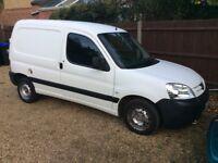 2006 56 Peugeot partner lx 600 d diesel van direct from Norfolk police
