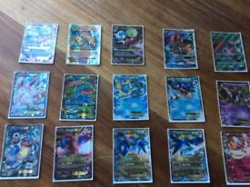 My full Pokemon card collection (Including 2 GX and 13 EX)
