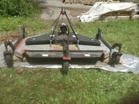 PTO driven, Finishing lawnmower - attaches to tractor