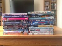 Mixed lot of 23 DVDs