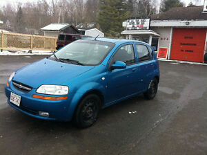 2008 CHEV AVEO, AUTOMATIC, HATCHBACK, 832-9000 OR 639-5000