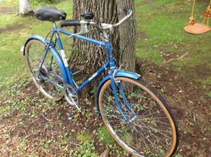 Vintage 1970s Raleigh 5-Speed Bicycle (Bike)