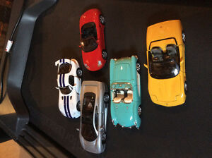 Die cast metal cars 1:24 scale  . $15 dollars each perfect condi