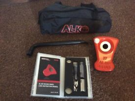 ALKO Caravan wheel lock 27