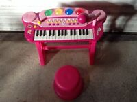 Chad Valley Piano and Stool