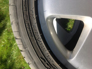 Audi TT rims with all season tires For Sale London Ontario image 3