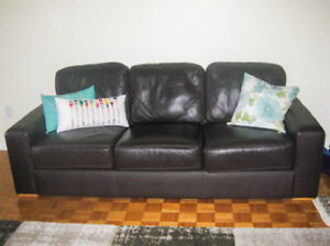 Two Leather Couches Perfect condition