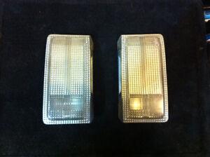 1990-95 rear licence plate backup lights