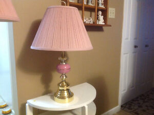 1 Floor Lamp And 2 Table Lamps