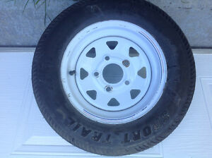 Brand new Trailer tire and rim Carlisle Sport Track 5.30-12