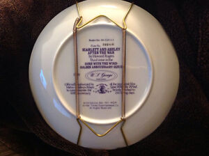 """4 """"Gone With The Wind"""" collector plates Peterborough Peterborough Area image 6"""
