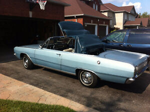 1967 dodge dart GT convertable