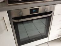 Samsung integrated electric fan oven