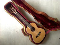 Lanikai O-6E Tenor ukelele, acoustic/electric, with case