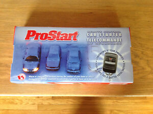 Pro start remote control car starter