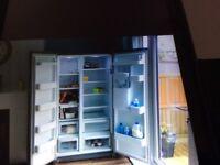 American style fridge/freezer ,frost free, fast chill
