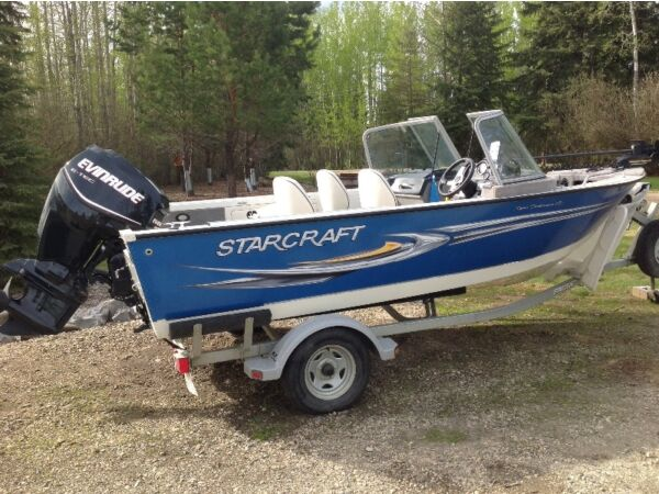 Starcraft 17 foot fishing boat for sale canada for Starcraft fishing boats